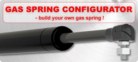 Gas spring configurator